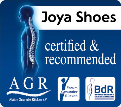 Joya Shoes certified & recommended AGR